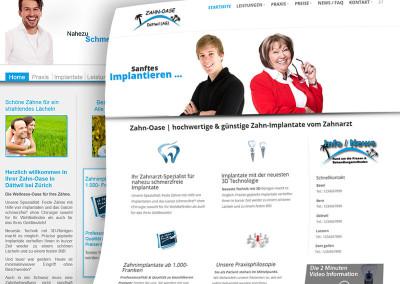 Unsere Website im neuen Gewand